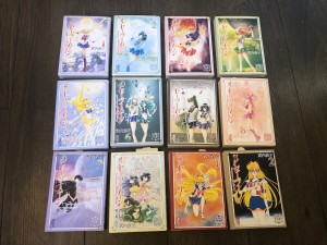 Sailor Moon Manga Bunko Collection - Covers