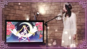 Moon Color Chaining - Momoiro Clover Z and the Five Sailor Guardians - Kotono Mitsuishi as Sailor Moon