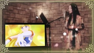 Moon Color Chaining - Momoiro Clover Z and the Five Sailor Guardians - Shizuka Ito as Sailor Venus