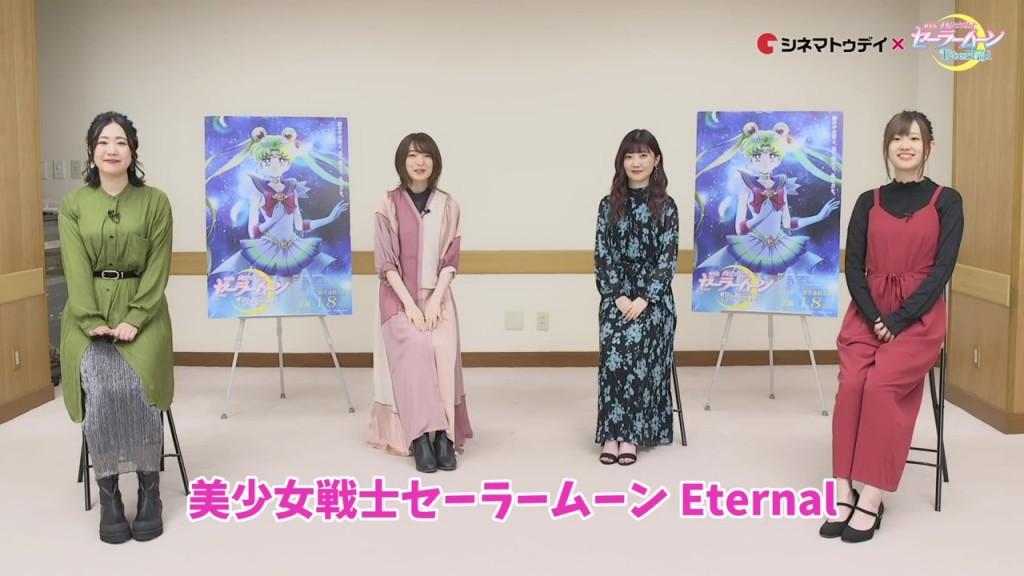 Sailor Moon Eternal - Amazoness Quartet Roundtable Discussion - Yuko Hara, Reina Ueda, Sumire Morohoshi and Rie Takahashi