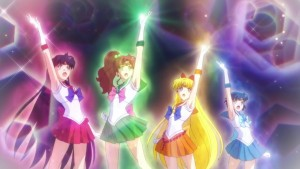 Sailor Moon Eternal - Sailor Mars, Jupiter, Venus and Mercury