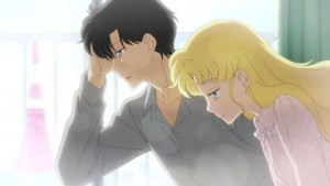 Sailor Moon Eternal - Mamoru and Usagi