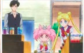 Sailor Moon Eternal - Mamoru, Chibiusa and Usagi
