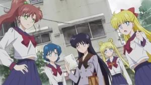 Sailor Moon Eternal - Makoto, Ami, Rei, Usagi and Minako