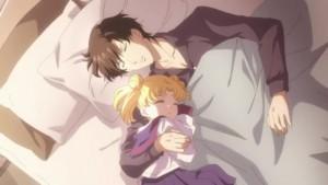 Sailor Moon Eternal - Mamoru and Young Usagi