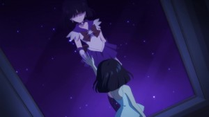 Sailor Moon Eternal Part 2 - Hotaru and Sailor Saturn