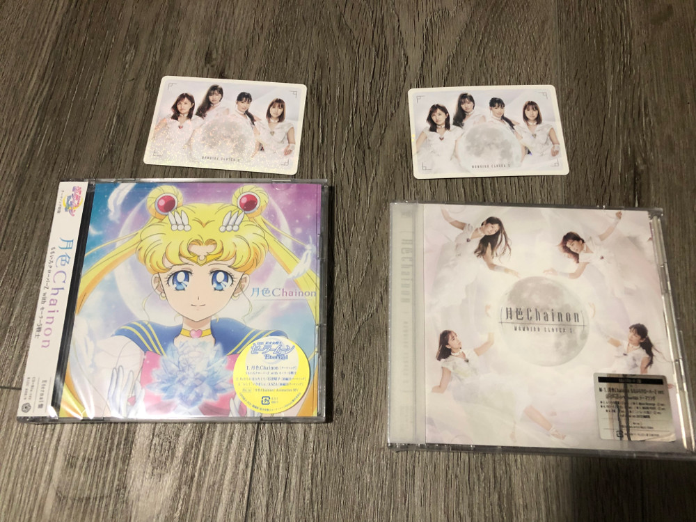 Moon Color Chainon CD and Blu-ray - Both covers