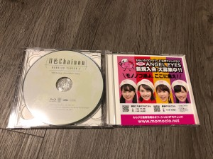 Moon Color Chainon CD and Blu-ray - Momoiro Clover Z Edition - Blu-ray disc