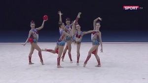 Uzbekistan 5 Balls Qualification at the FIG Rhythmic Gymnastics World Cup