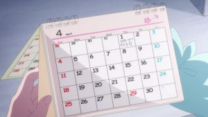 Pretty Guardian Sailor Moon Eternal Part 1 - Chibiusa's calendar