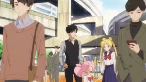 Pretty Guardian Sailor Moon Eternal Part 1 - Mamoru's green jacket