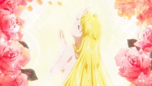 Pretty Guardian Sailor Moon Eternal Part 1 - Minako showers
