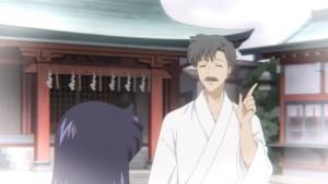 Pretty Guardian Sailor Moon Eternal Part 1 - Rei's young grandpa