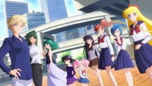Pretty Guardian Sailor Moon Eternal Part 2 - Haruka, Setsuna, Michiru, Hotaru, Chibiusa, Rei, Makoto, Ami and Minako