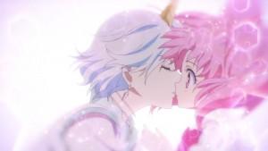 Pretty Guardian Sailor Moon Eternal Part 2 - Helios kisses Chibi Moon