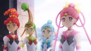 Pretty Guardian Sailor Moon Eternal Part 2 - The Sailor Quartet
