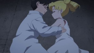 Pretty Guardian Sailor Moon Eternal Part 2 - Young Mamoru and Usagi