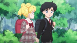 Pretty Guardian Sailor Moon Eternal Part 2 - Young Usagi and Mamoru