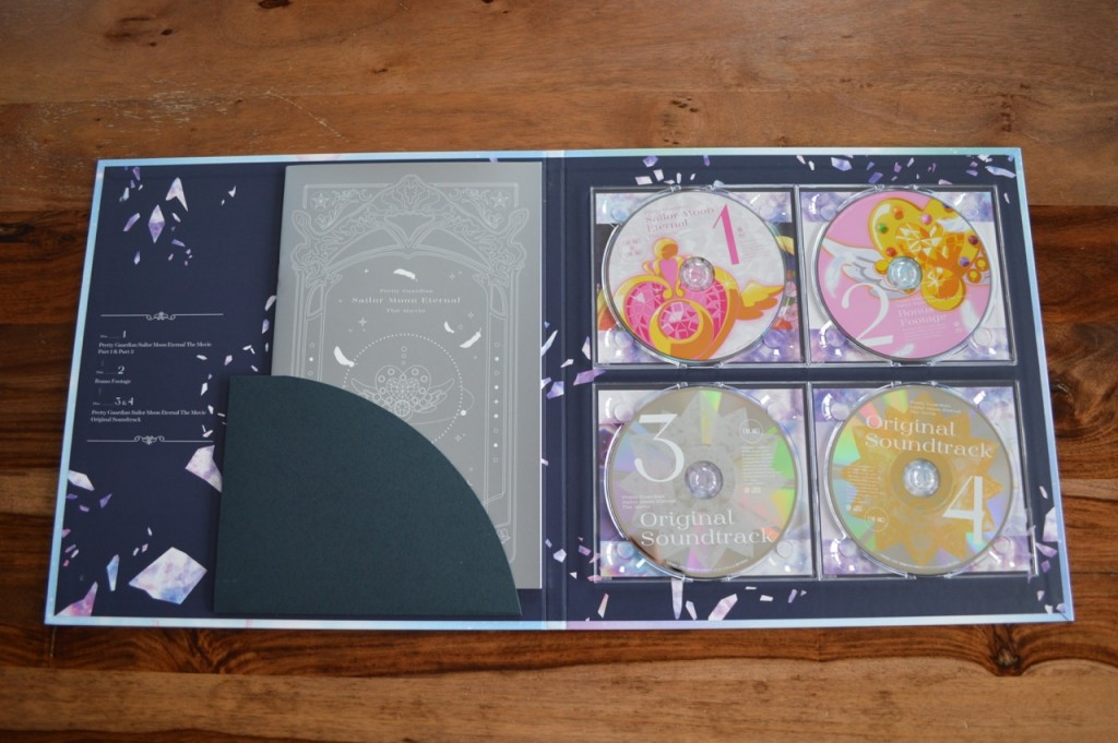 Sailor Moon Eternal Limited Edition Blu-ray - Discs