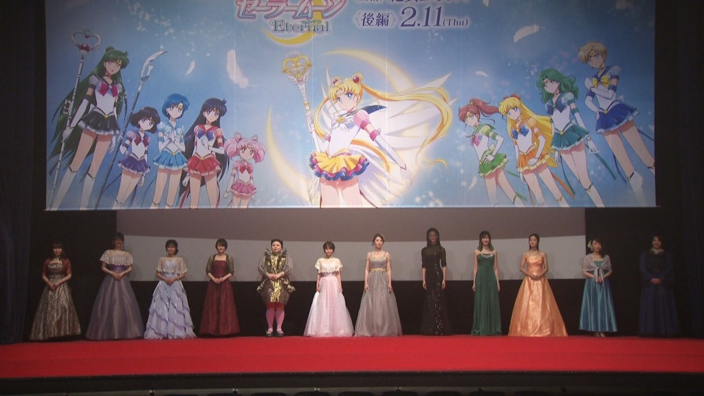 Sailor Moon Eternal Limited Edition Blu-ray - Interview with the full cast in Princess dresses