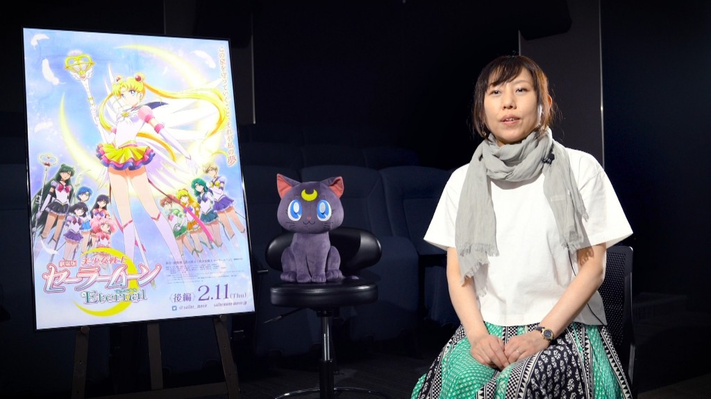 Sailor Moon Eternal Limited Edition Blu-ray - Interview with director Chiaki Kon