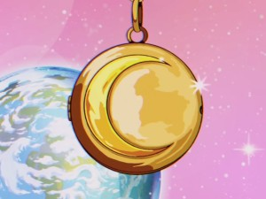 Dua Lipa - Levitating - A crescent Moon shaped locket