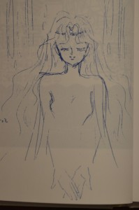 Sailor V Anime Concept Art - Human Female Artemis