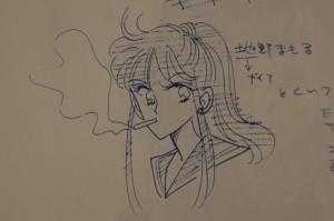 Sailor V Anime Concept Art - Mamoru Chino