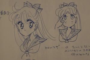 Sailor V Anime Concept Art - Minako